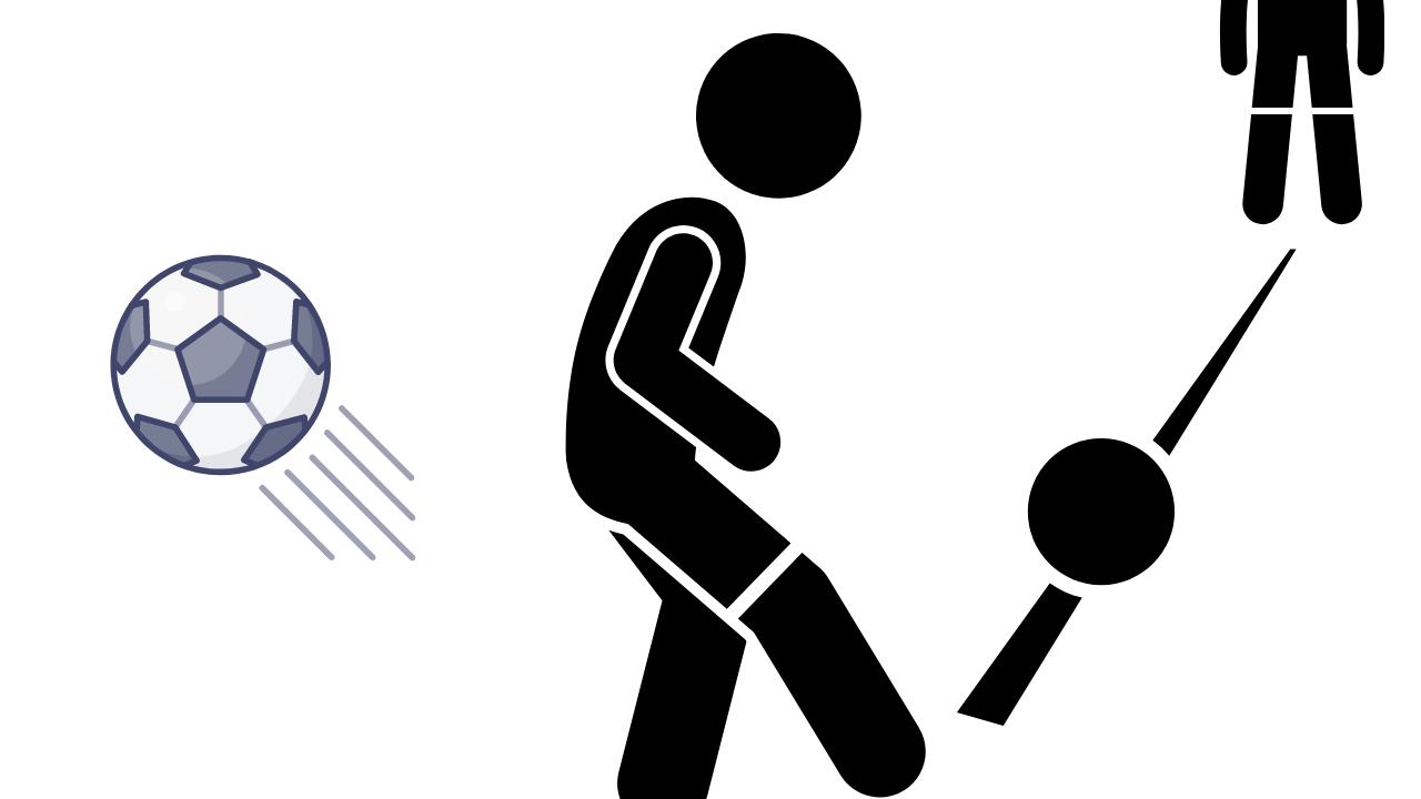 インサイドキックとは?正しい蹴り方や練習方法など徹底解説!